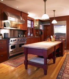 chicago historic home-kennebec kitchen