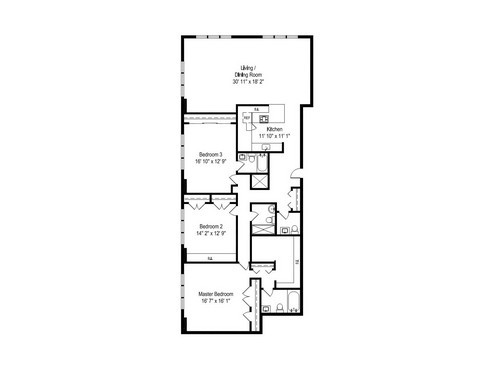 777 N Michigan Ave Floor Plan