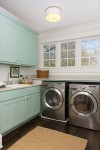 staging your home for sale- laundry room