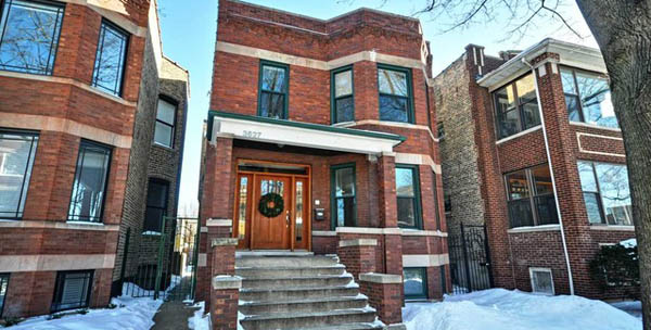 chicago vintage homes-historic property