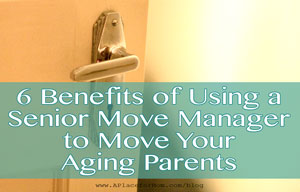 use a senior move manager