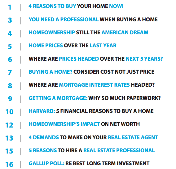Home Buyer Guide 2015