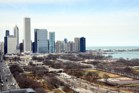 1160 S Michigan Ave View