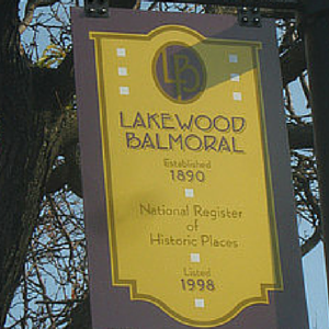 Lakewood Balmoral Historic District