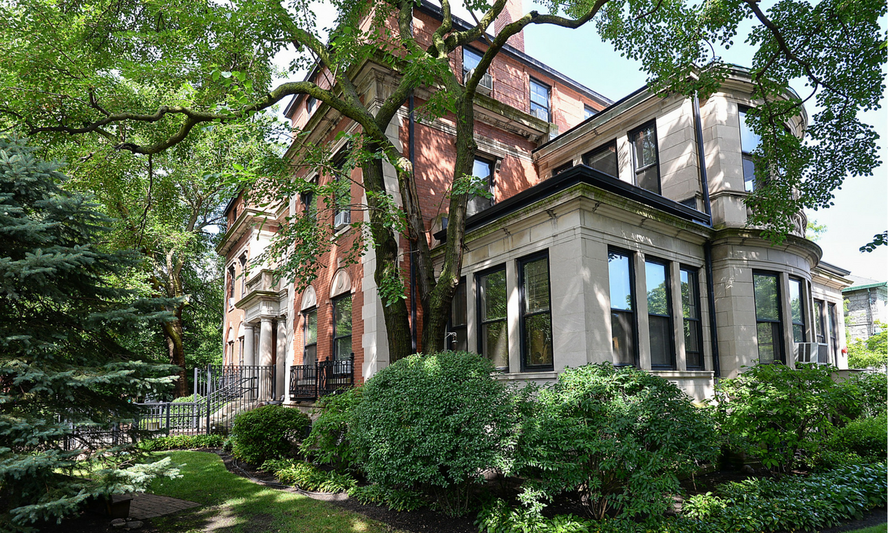 Historic homes for sale chicago for Chicago mansion for sale